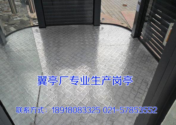 钢结构岗亭_圆形钢结构岗亭